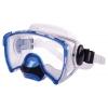 Маска для плавания 264 ZEL ZP-264TSS (термостекло, силикон, пластик, жёлтый, синий, серебро, черный)