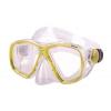 Маска для плавания 276 ZEL ZP-276TPP (термостекло, PVC, пластик, желтый, синий, красный, черный)