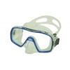 Маска для плавания 287 ZEL ZP-287TPP (термостекло, PVC, пластик, желтый, черный, синий, красный)