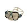 Маска для плавания 294 ZEL ZP-294TPP (термостекло, PVC, пластик, желтый, зеленый, синий, красный)