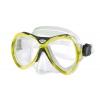 Маска для плавания 301 ZEL ZP-M301TSS (термостекло, силикон, пластик, синий, желтый, красный, серый)