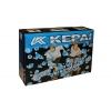 Роликовые коньки раздвижные KEPAI SK-28006-OR(XL) (42-44) (PL,PVC,колесо PU,алюм. рама, сер-оранж)