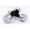 Гантель для фитнеса хром. DB5202-10 (1x10кг) (1шт, хромированное покрытие)