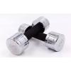 Гантель для фитнеса хром. DB5202-4 (1x4кг) (1шт, хромированное покрытие)
