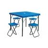 Набор для пикника (стол+4стула) TO-8833 (р-р стола 85х86х69см, металл, пластик)
