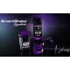 Шейкер 3-х камерный для спортивного питания SMART SHAKER SIGN JAY CUTLER 6020027 (600мл, чер-фиолет)
