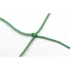 Сетка большой теннис Эконом UR SO-5307 (капрон d-1,2мм, р-р 12,8x1,08м, яч. 4см, метал.трос,зеленый)