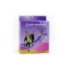 Майка для фитнеса (похудения) HOT SHAPERS голубой FI-4818-BL (неопрен, сетка)