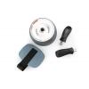 Ролик для пресса с возвратным механизмом Ab Carver Pro FI-4812 (d-19см l-48см, металл, с ковриком)