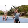 TRX Палка гимнастическая с амортизатором Rip Trainer FI-3728-07 (палка-тренажер, двер.креп,DVD,сумк)