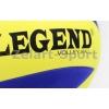 Мяч волейбольный Клееный EVA LEGEND EV18 (EVA, №5, 3-слоя, клееный, синий-желтый)
