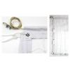 Сетка для волейбола Эконом10 Норма UR SO-5273 (PP 2,5мм, р-р 9,5x1м, ячейка 10x10см, метал. трос)