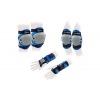 Защита спорт. наколенники, налокот., перчатки детская KEPAI LP-372 (р-р M-8-12лет, синий)