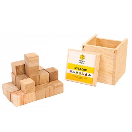 Деревянная головоломка Кубасик