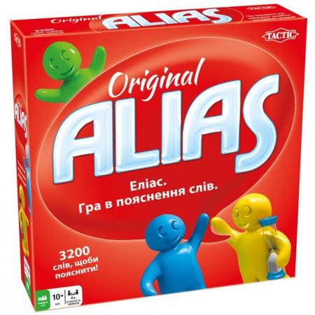 Аліас классичний українською. Гра в пояснення слів Еліас (укр / англ). Tactic (54335)