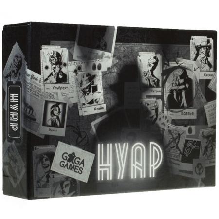 Нуар (Noir) - Карточная детективная игра. GaGa Games (GG031)