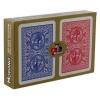 Пластиковые карты подарочные Modiano Golden Trophy Jumbo (2 колоды)