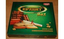 Эрудит 2в1 (русс + укр яз) - Настольная семейная игра