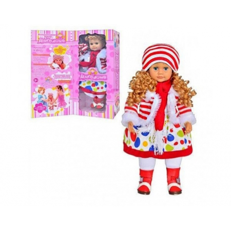 Кукла Ангелина 1050252 R/051, 60 см, интерактивная