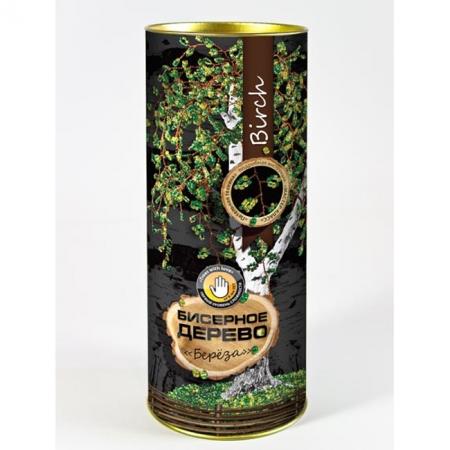 """Набор для творчества Бисерное дерево """"Березка"""", БД-01"""