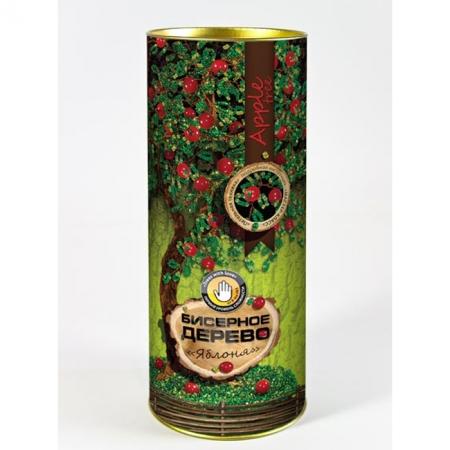 """Набор для творчества Бисерное дерево """"Яблоня"""", БД-04"""