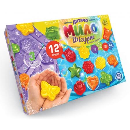 Детское фигурное мыло своими руками (12 форм), DFM-02-01