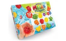 Детское фигурное мыло своими руками (12 форм), DFM-02-02
