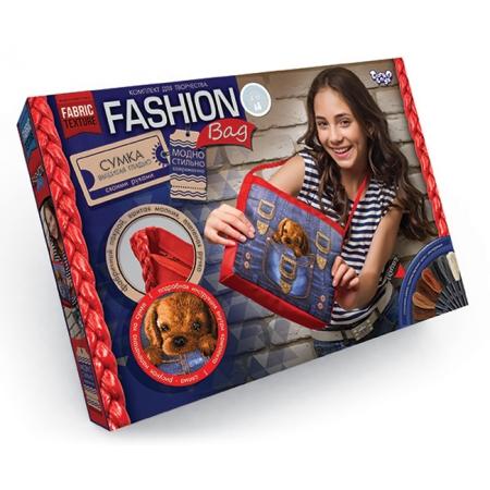 Набор для творчества Сумка с собственной вышивкой MY FASHION BAG, FBG-01-04