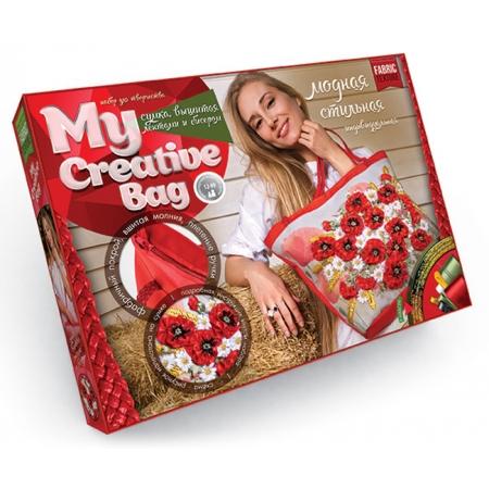 Набор для творчества Сумка с вышивкой бисером MY CREATIVE BAG, MCB-01-01