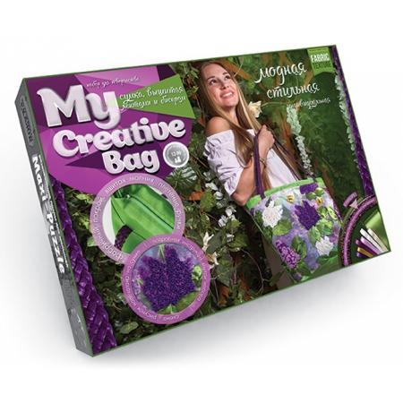 Набор для творчества Сумка с вышивкой бисером MY CREATIVE BAG, MCB-01-02
