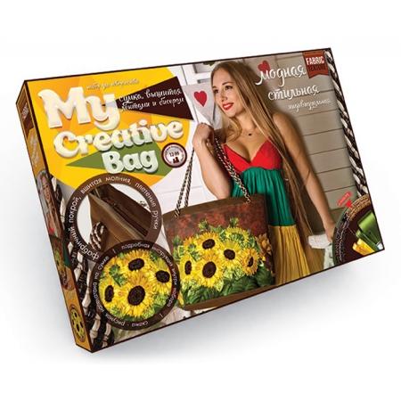 Набор для творчества Сумка с вышивкой бисером MY CREATIVE BAG, MCB-01-03