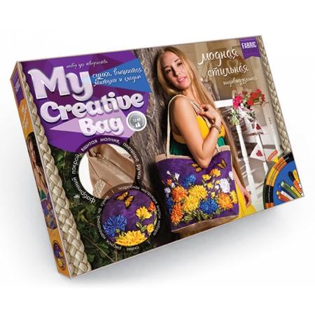 Набор для творчества Сумка с вышивкой бисером MY CREATIVE BAG, MCB-01-04