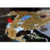 Скретч карта мира My Map World Black edition (англ. язык)