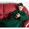 Плед с рукавами детский Homely Kids Original Зеленый, флис, 100x130 см