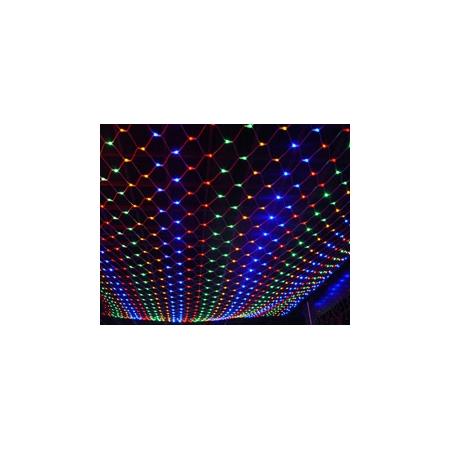 Электрогирлянда Сетка 2,4 x 1 м. Jazzway TWNT200C-M