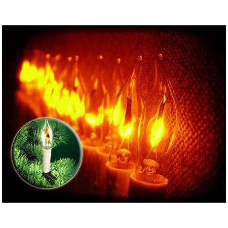 Электрогирлянда Мерцающие свечи Jazzway IE12-04016
