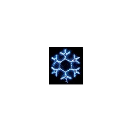 Новогодний дюралайт Снежинка Jazzway I-R-P4SF-C-B
