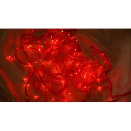 Внутренняя гирлянда 100 лампочек Jazzway ITW100C-R (красный)