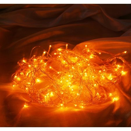 Внутренняя гирлянда 100 лампочек Jazzway ITW100C-Y (желтый)
