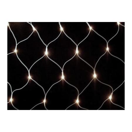 Гирлянда Сетка с LED светодиодами Jazzway NTLD144-W-E 1,5 м (белый)