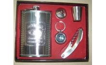 Подарочный набор с флягой для мужчин Jack Daniels (265 мл), GT-A002