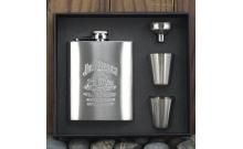 Подарочный набор Jim Beam (фляга и 4 рюмки), 61031