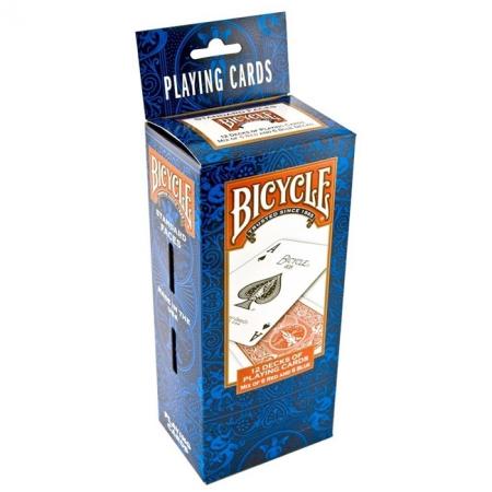 Карты Bicycle Standard 12 колод (6 Red + 6 Blue)