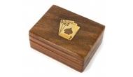 Изображение - Футляр для игральных карт подарочный (орех)