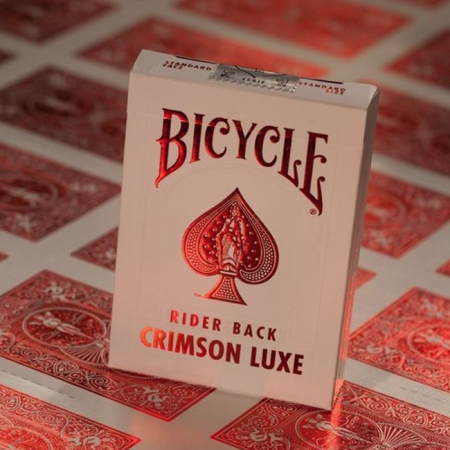 Карты Bicycle Crimson Luxe Red