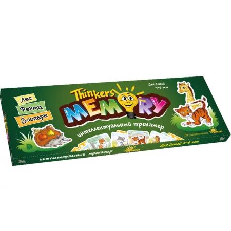 Thinkers Memory (рус, 4-6 лет) - Развивающая настольная игра