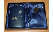 Фляга подарочная Johnnie Walker в наборе (260 мл), 17161