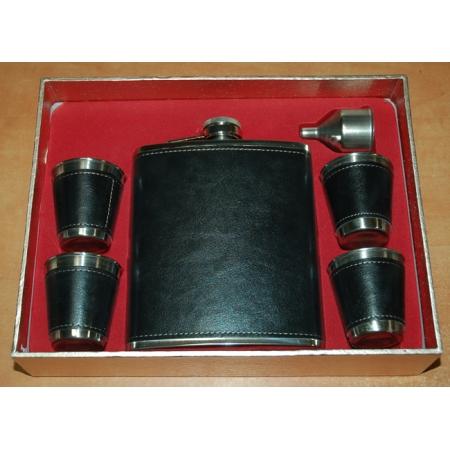 Фляга подарочная в наборе (510 мл), 61012