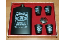 Фляга подарочная Jack Daniels в наборе (255 мл), 610041