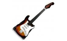 Гитара Fender, миниатюра, дерево, 20,5 см